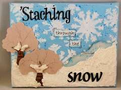 'Staching Through The Snow **Basically Bare**
