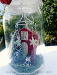 Winter Home in a Mason Jar