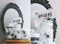 Spooky Holiday Decor by Julie Comstock using Cosmo Cricket Show Toppers