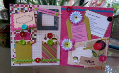 Smash Book Pages For IHeartScrapbooking/Bonnie