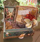 By The Shore Burlap Mini Album