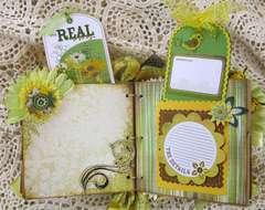 Flowers Paper Bag Album