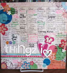 {101 things i heart}