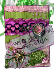 Love Life ATC by Vicki Flinchum