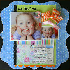 All About Me @ 3 *NEW Melissa Frances*