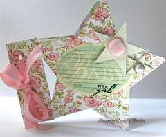It's a Girl card *Melissa Frances*