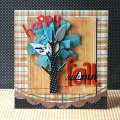 Happy Fall card *Pink Paislee*