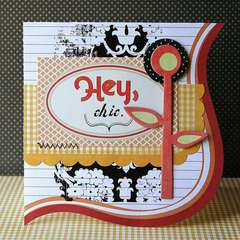 Hey Chic card