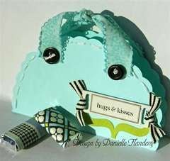 Hugs & Kisses card/gift bag