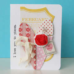 I Love You to Pieces card *NEW Jenni Bowlin*