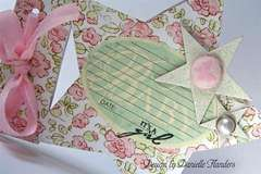 It's a Girl card - close up *Melissa Frances*