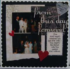 Wedding album - from this day forward