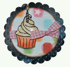 Cupcake mini card