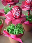 Tootsie Pop Lollipop Flower