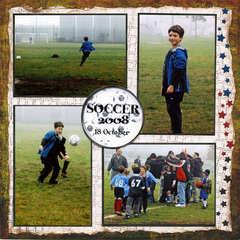 Soccer in the Fog