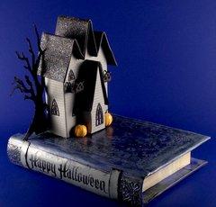 3 Gable Gothic Halloween House