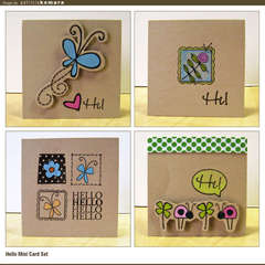 Krafty Mini Card Set
