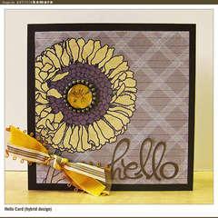 Hello Card (hybrid design)