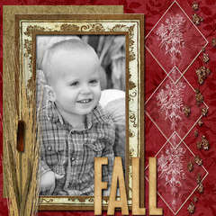 Fall - September Calendar page