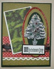 Christmas Tree Christmas Joy Card