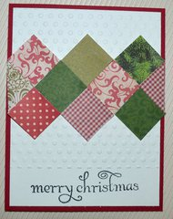 Quilted Squares Card
