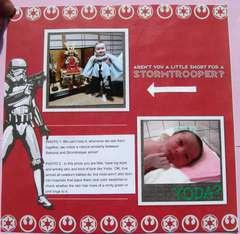 Jedi Baby Album page 4