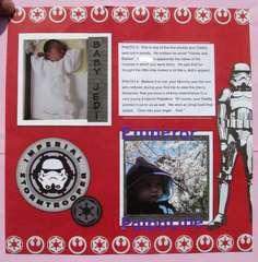 Jedi Baby Album page 5