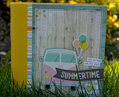 NEW! Simple Stories Summer Vibes
