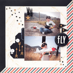 DIY Scrapbook Inspiration featuring DIY Shop from American Crafts