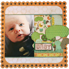 Baby using the Little Sprout Collection from Crate Paper