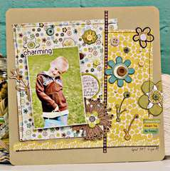 Charming using the Brook Collection from Crate Paper