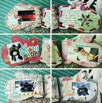 Crate Paper winter mini album by Lexi Bridges