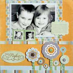 Just Perfect using the Sweet Branch Collection by Crate Paper