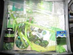 Green drawer