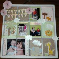 7gypsies Altered Tray for my Little Monkey Girl