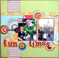 Fun Times @ Disneyland
