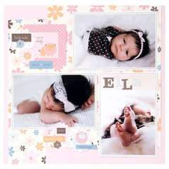 Little Lady Baby Layout