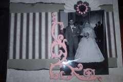 Grandparents wedding album