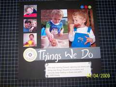 Things We Do Title Page