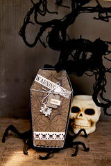 Creepy Coffin *Carta Bella*
