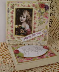 Happy Birthday-Twisted Easel card