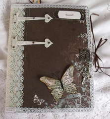 Altered Composition book/Journel