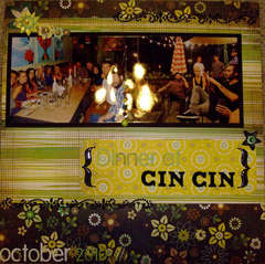Dinner at CinCin