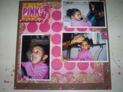 She Wears Pink