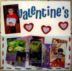 Valentine's cards 2010
