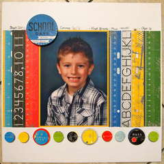 School Days - Connor 1st grade