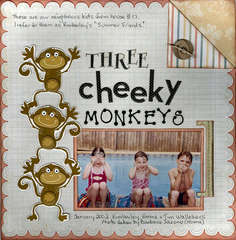 Three Cheeky Monkeys