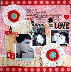 T + L = LOVE