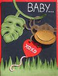 Monkey Valentine's Card - Front