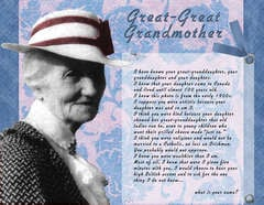 Great-Great Grandmother